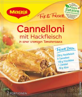 Maggi fix  Maggi Fix & Fresh - Cannelloni with Minced Meat | GermanDeliStore.com