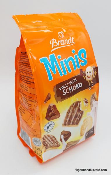 Brandt Mini Rusk Milk Chocolate
