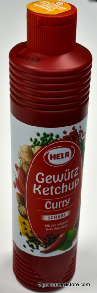 Hela Curry Spice Ketchup Hot
