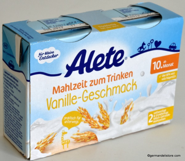 Alete Meal to Drink Vanilla Flavor