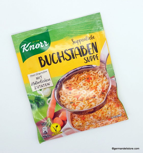 Knorr Suppenliebe ABC Noodle Soup