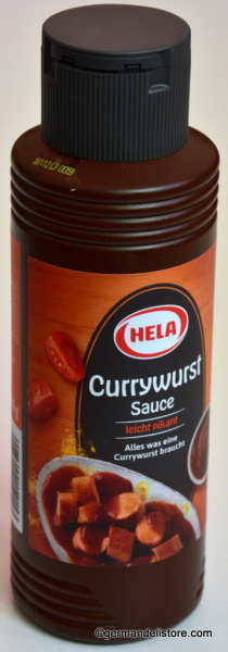 Hela Curry Sausage Sauce