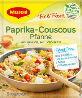 Maggi Fix & Fresh - Paprika Couscous Pan | GermanDeliStore.com | {Maggi fix 13}