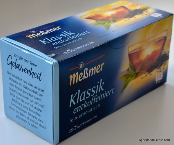 Messmer Black Tea Classic Decaffeinated