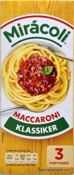 Miracoli Classic Maccaroni with Tomato Sauce
