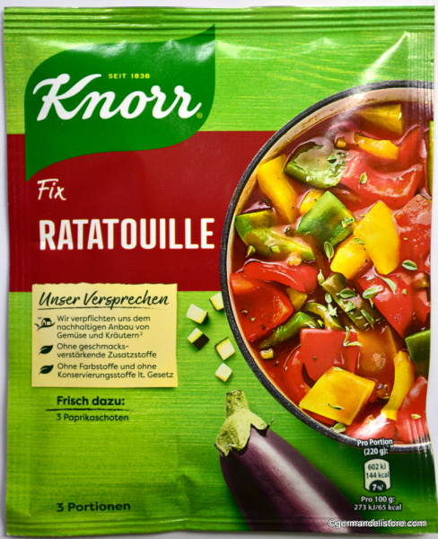 Knorr Fix for Ratatouille