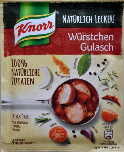 Knorr Fix Naturally Delicious Sausage Goulash