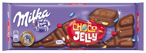 Milka Choco Jelly Chocolate Bar   GermanDeliStore.com