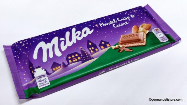 Milka Almod Crisp & Cream