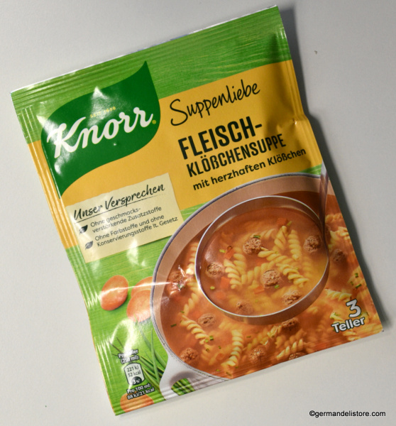 Knorr Suppenliebe - Meatballs Noodles Soup