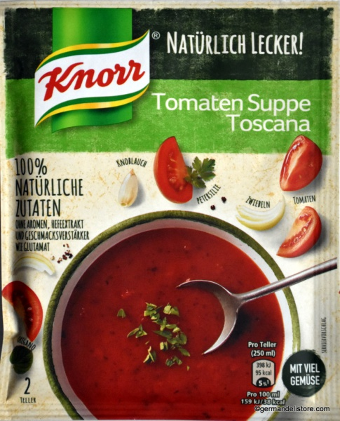 Knorr Natürlich Lecker! Tomato Soup Tuscany Style