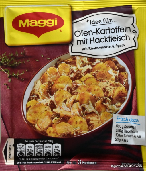Maggi Fix & Fresh Oven Potatoes with Ground Meat