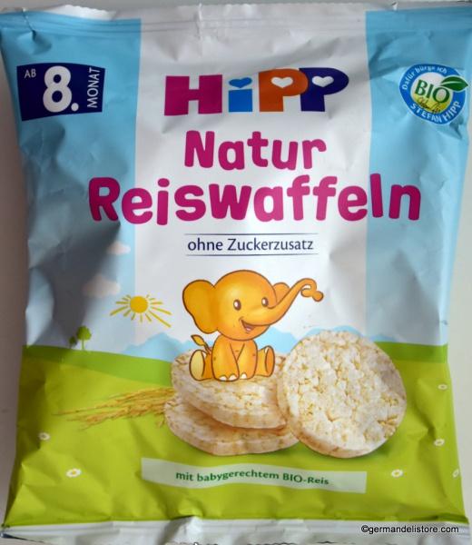 HiPP Rice Waffles Nature