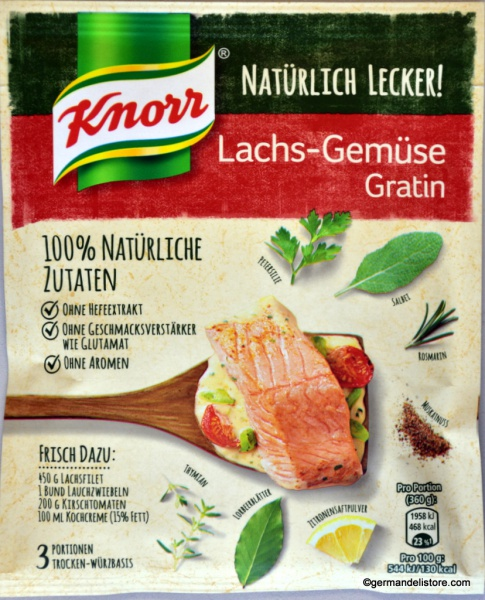 Knorr Fix Naturally Delicious Salmon and Vegetables Gratin