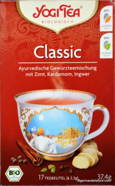 YogiTea Organic Tea Classic
