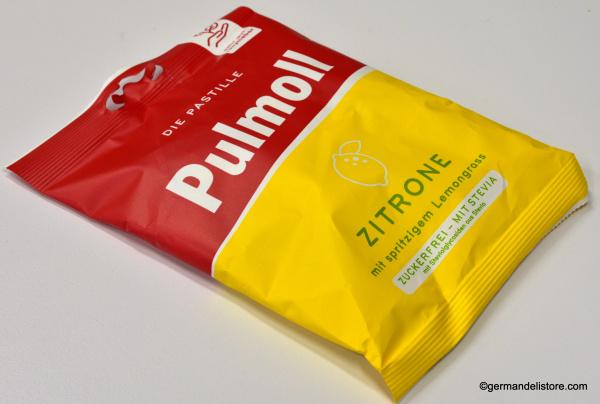 Pulmoll Pastilles Lemon sugarfree