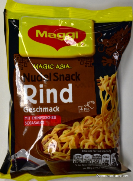 Maggi Magic Asia Noodles Snack Beef