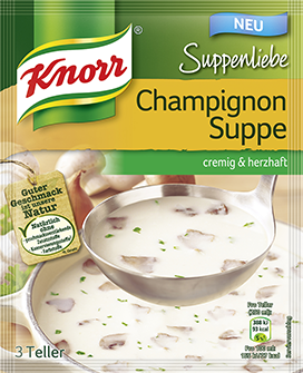Knorr Suppenliebe Champignon Soup
