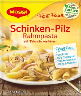 Maggi Fix & Fresh - Ham Mushroom Cream Pasta | GermanDeliStore.com | {Maggi fix 18}