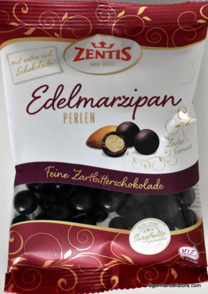 Zentis Fine Marzipan Pearls Dark Chocolate