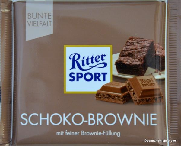 Ritter Sport Chocolate Brownie