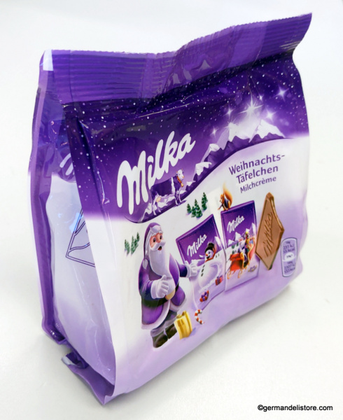 Milka Christmas Chocolate Plates Milk Cream