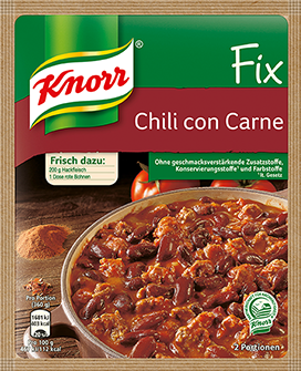 Knorr Fix for Chili Con Carne | GermanDeliStore.com | {Knorr fix 70}