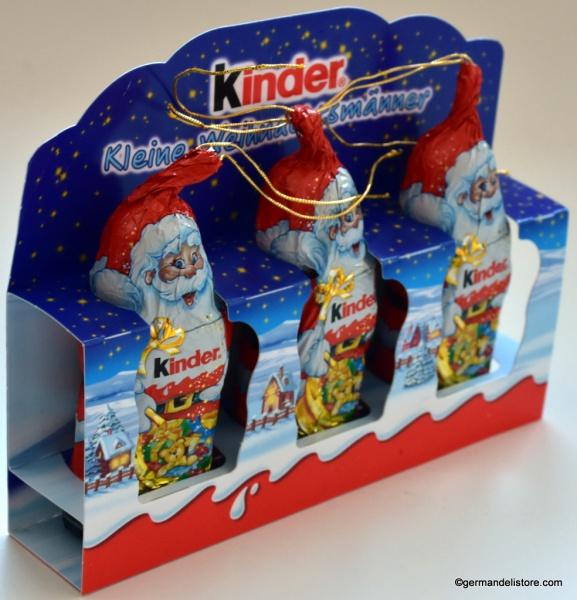 Ferrero Kinder Chocolate Small Santas