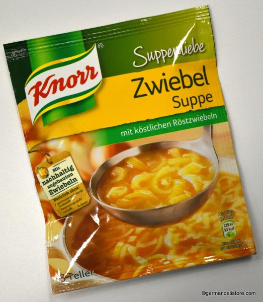 Zwiebelsuppe Knorr