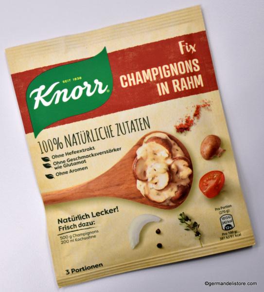 Knorr Fix Naturally Delicious Mushrooms In Cream