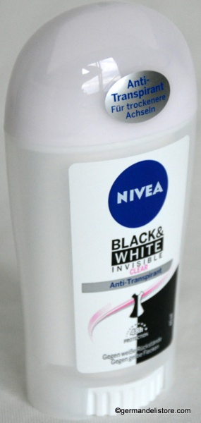 Nivea Deo Stick Invisible Black & White Clear