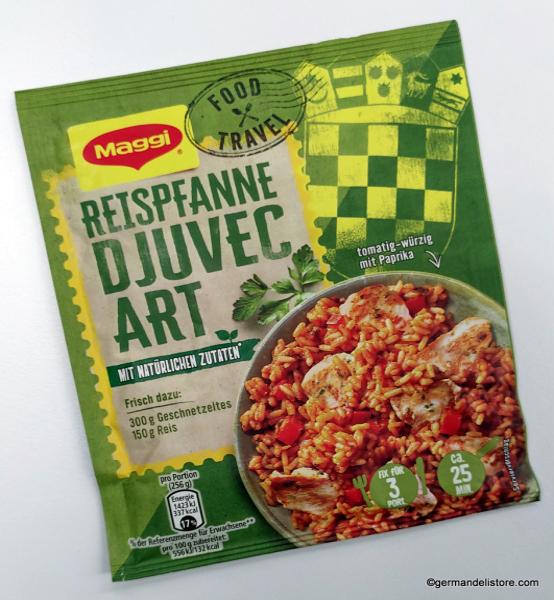 "Maggi Food Travel Rice Pan ""Djuvec-Style"""