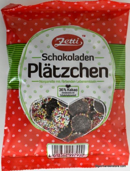 Zetti Nonpareils Chocolate Cookies