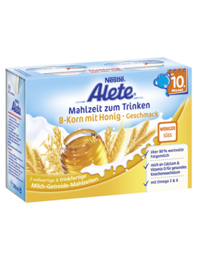 Alete Meal to Drink 8-Grain with Honey