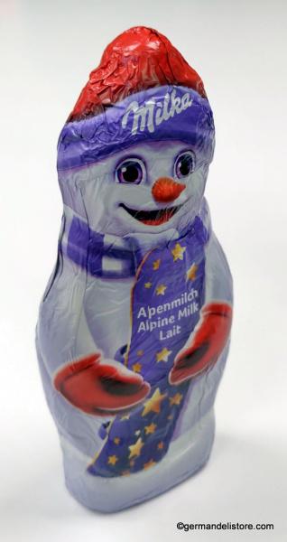 Milka Chocolate Snowman