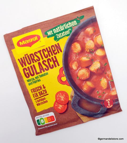 Maggi Fix & Fresh Sausage Goulash