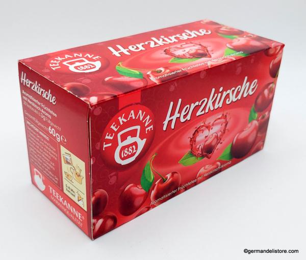 Teekanne Heart Cherry