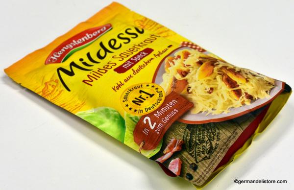 Hengstenberg Mildessa Mild Sauerkraut with Bacon