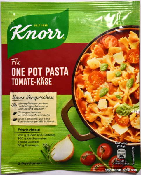 Knorr Fix for One Pot Pasta Tomato Cheese